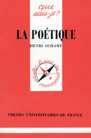9782130440413: La Poétique