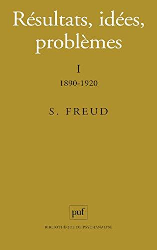 Résultats, idées, problèmes, tome 1, 6e édition (9782130440642) by Sigmund Freud