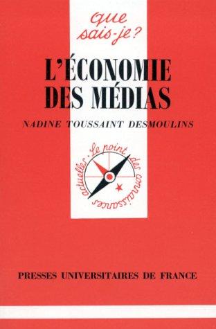 9782130442097: L'Économie des médias