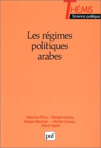 9782130442738: Les Régimes politiques arabes