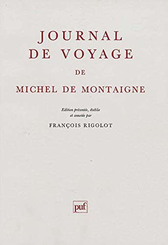9782130443001: Journal de voyage (Ancien prix éditeur : 31.00 € - Economisez 50 %)