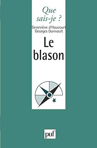 9782130443353: Le Blason
