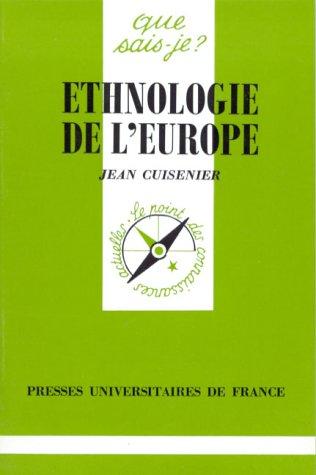 9782130443360: Ethnologie de l'Europe