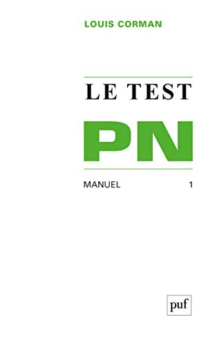 Le test pn t1 manuel: Corman l.