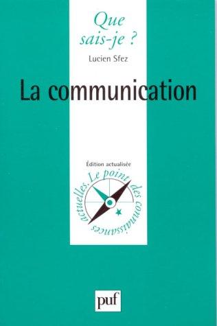 9782130443933: La Communication
