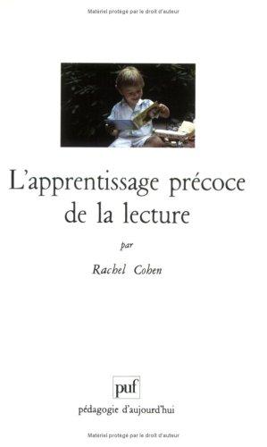9782130444619: L'apprentissage précoce de la lecture, 5e édition