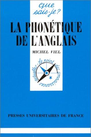 9782130445562: La phonétique de l'anglais. : 5ème édition