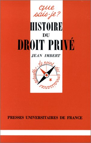 9782130445937: Histoire du droit privé