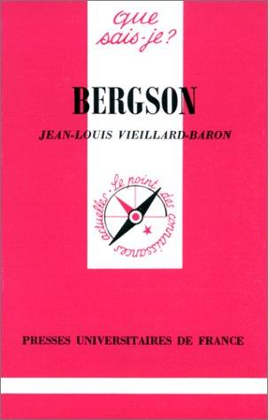 9782130445944: Bergson
