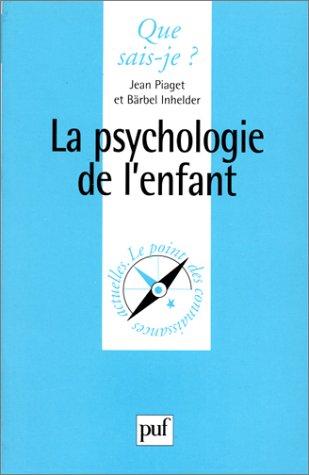 9782130446897: La psychologie de l'enfant