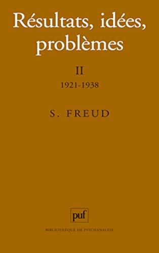 Résultats, idées, problèmes, 5e édition: Sigmund Freud