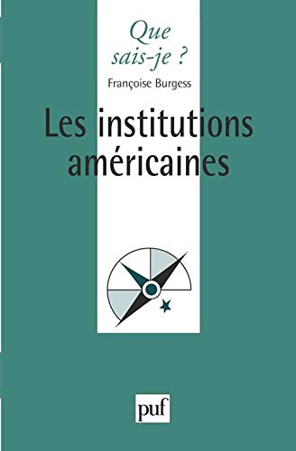 9782130447429: Les Institutions américaines