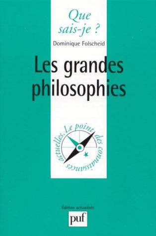 9782130448266: Les Grandes Philosophies
