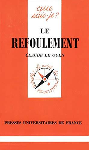 9782130448686: Le Refoulement
