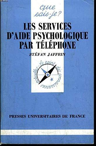9782130448693: Les services d'aide psychologique par téléphone