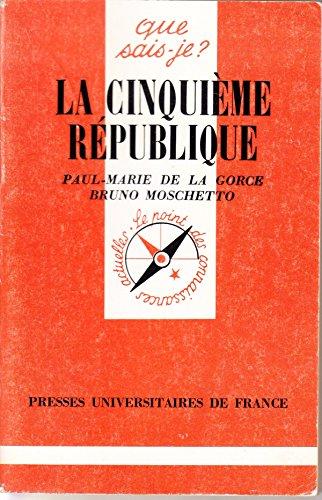 9782130448969: La Ve R�publique