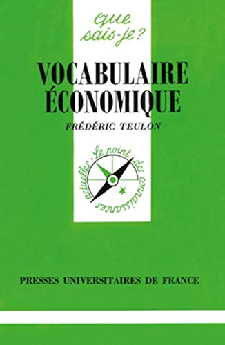 9782130449706: Vocabulaire économique