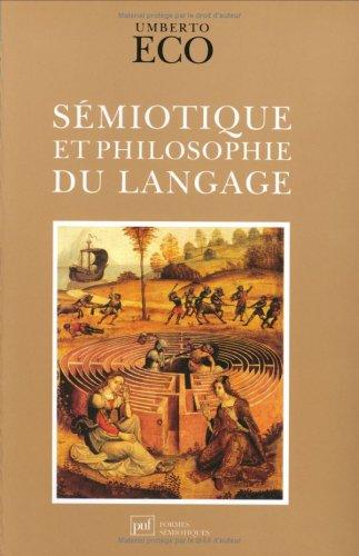 9782130450146: Sémiotique et philosophie du langage