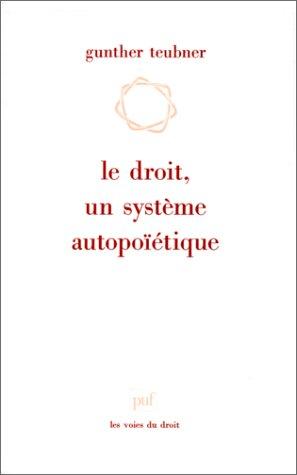 9782130450535: Le Droit, un syst�me autopo��tique