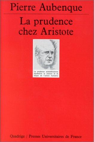 9782130450696: La prudence chez Aristote