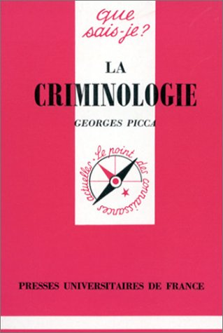 9782130452683: La Criminologie