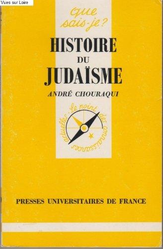 9782130453901: Histoire du judaïsme
