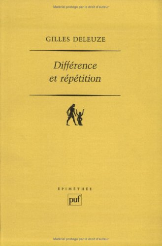 9782130455165: Différence et répétition (Epiméthée)