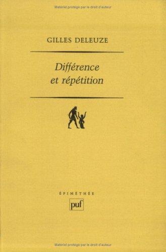 9782130455165: Différence et Répétition