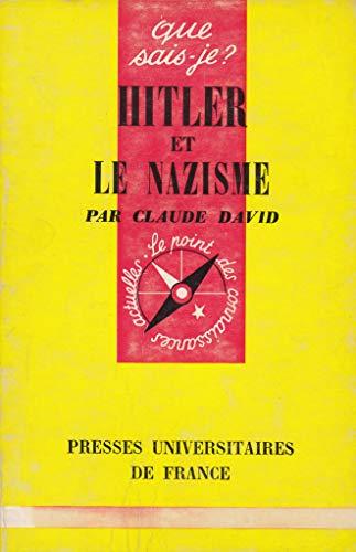 9782130455431: Hitler et le nazisme