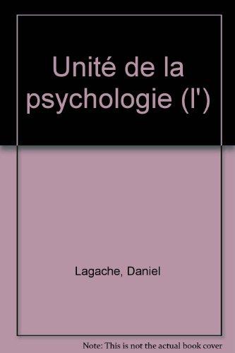 9782130455509: L'Unité de la psychologie