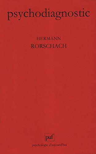 9782130455615: Psychodiagnostic : Méthode et résultats d'une expérience diagnostique de perception, interprétation libre de formes fortuites
