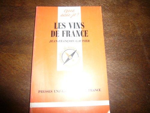 9782130459712: Les vins de France