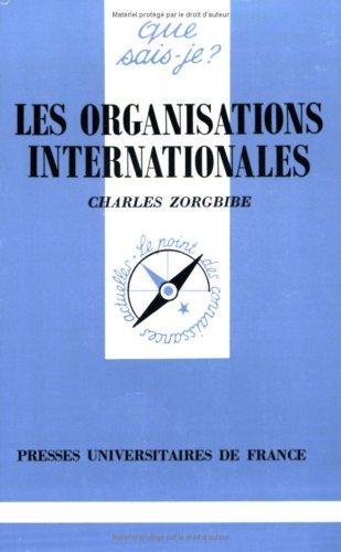 9782130459781: Les Organisations internationales