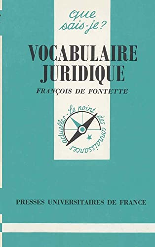 9782130459842: Vocabulaire juridique