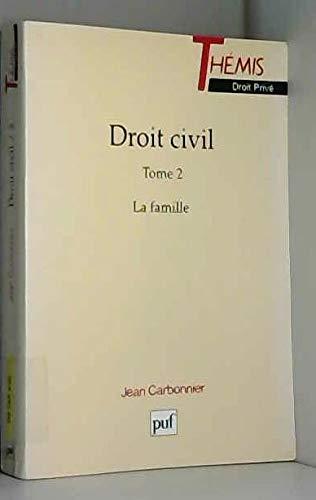 9782130460060: Droit civil Tome 2 : La famille