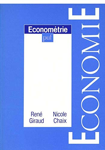 Econométrie: Giraud, René ; Chaix, Nicole