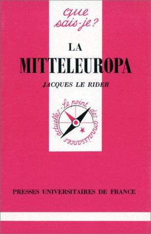 9782130461388: La Mitteleuropa