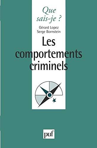 9782130461982: Les comportements criminels