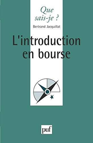 9782130461999: L'introduction en bourse