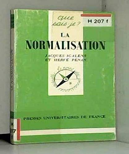 9782130464341: La normalisation