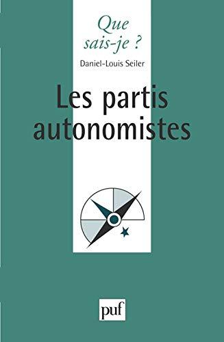 9782130465201: Les partis autonomistes