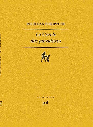Russell et le cercle des paradoxes: De Rouilhan, Philippe