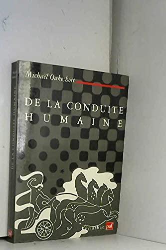 De la conduite humaine: Oakeshott, Michael