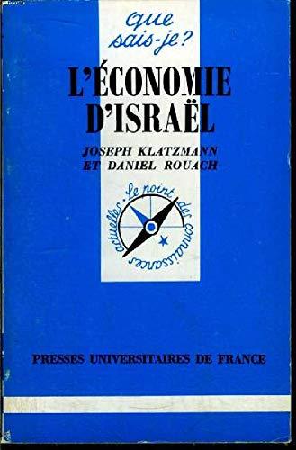 9782130467915: L'économie d'Israel