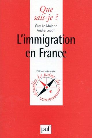 9782130468073: L'Immigration en France