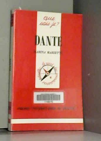 9782130470137: Dante