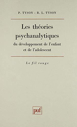 Les théories psychanalytiques du développement de l'enfant et de l'...