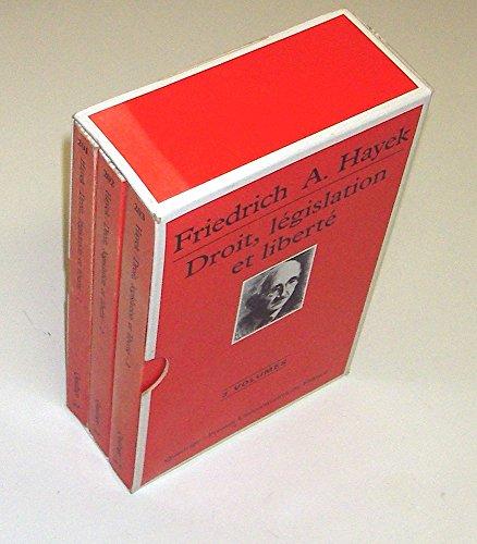 9782130472032: Droit, législation et liberté, coffret de 3 volumes