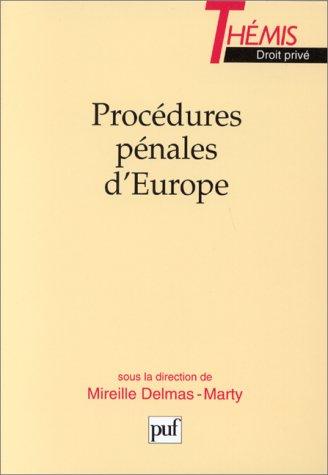 9782130472599: Procédures pénales d'Europe