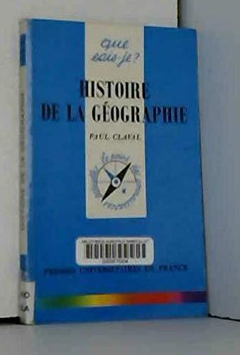 9782130472841: Histoire de la géographie